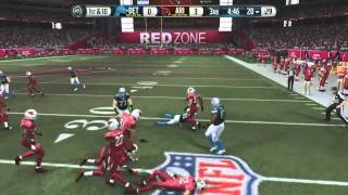 Football-NFL-Madden 15 :: Ted Ginn MOSSES EVERYONE! :: Lions Vs. Cardinals - Online Gameplay XboxOne