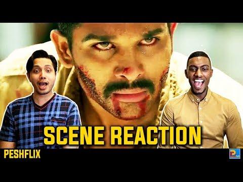 Sarrainodu Climax Fight Scene Reaction   Allu Arjun   PESHFlix Entertainment