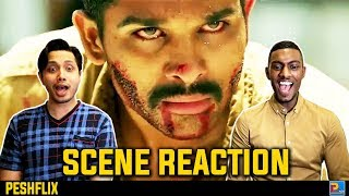 Sarrainodu Climax Fight Scene Reaction | Allu Arjun | PESHFlix Entertainment