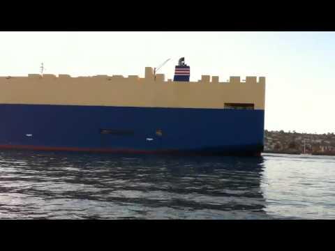 Car Carrier Ship Grand Venus