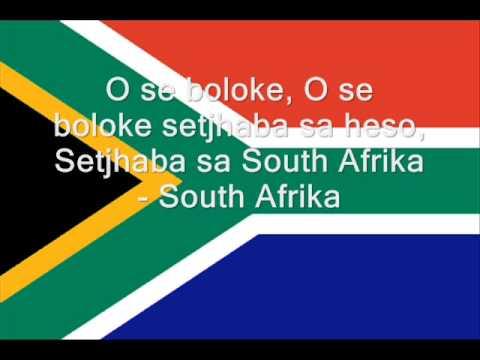 Hymne nationale de l'Afrique du Sud