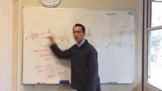 Tangent & Radius are Perpendicular (Demonstration Through Secants)