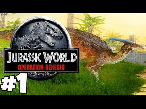 Jurassic Park: Operation Genesis   JURASSIC WORLD: OPERATION GENESIS (Playthrough Part 1)