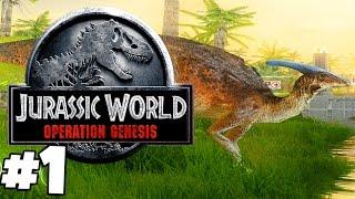 Jurassic Park: Operation Genesis | Gameplay Part 1 | JURASSIC WORLD: OPERATION GENESIS