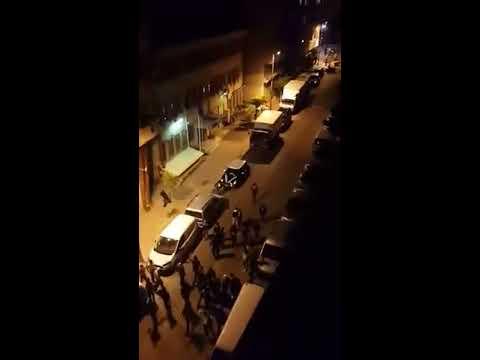 Zeytinburnu'nda Ülkücüler Eylemci PKK'lıları kovalıyor !