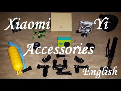 Xiaomi Yi Action Camera Accessories English #kw