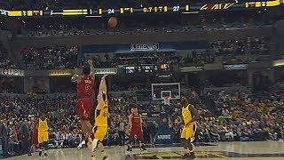 JR Smith Shocks Pacers Crowd With Full Court Shot Buzzer Beater and Brings Them To Their Feet