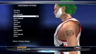 NBA 2k14 (PC) My Player Creation