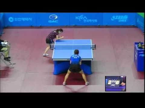 Korea open 2012 PARK Miyoung vs ABE Megumi