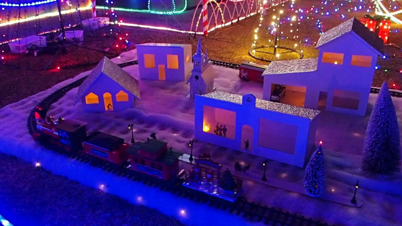 Christmas Outdoor Train Set