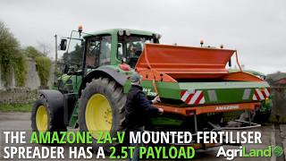 ISOBUS in action: John Deere tractor and Amazone spreader (2017)