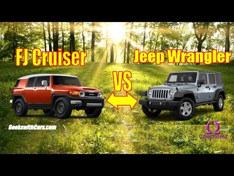 Why I Bought A Jeep Wrangler Vs Toyota Fj Cruiser Unlimited
