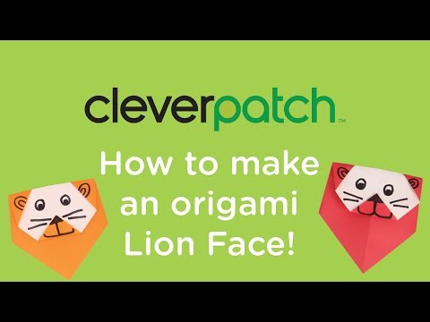 origami lion a6 | Origami diagrams, Origami lion, Origami animals | 360x480
