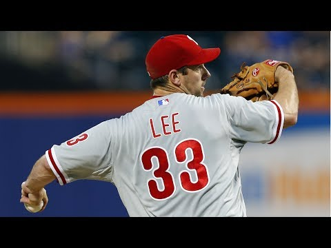 Cliff Lee's Pitching Repertoire
