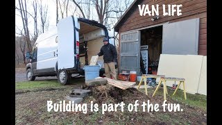 VAN LIFE - is building a camper conversion better than buying one?
