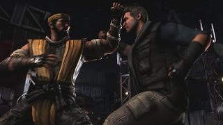 Mortal Kombat X [PC MAX 60FPS] - Gameplay: Scorpion vs Johnny Cage (BOSS FIGHT) [1080p HD]