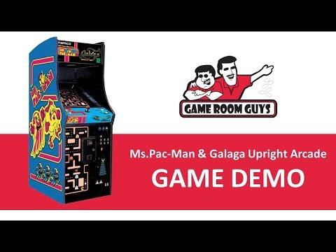 Ms Pac-Man Galaga Retro Arcade Game   Game Room Guys