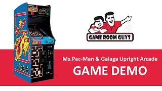 Ms Pac-Man Galaga Retro Arcade Game | Game Room Guys