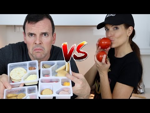 Thumbnail: LUNCHABLES vs REAL FOOD