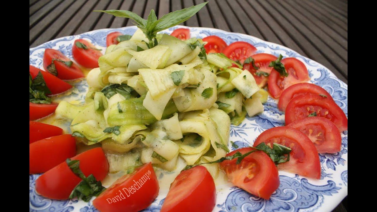 Tagliatelles De Courgettes La Cuisine De Monica YouTube - La cuisine de monica