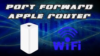 how to port forward airport extreme