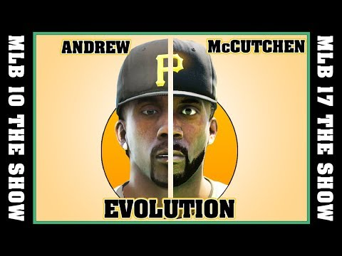 ANDREW McCUTCHEN evolution [MLB 10 - MLB 17 THE SHOW] ⚾