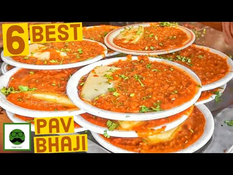 Best Pav Bhaji in India | Indian Street Food | Veggiepaaji