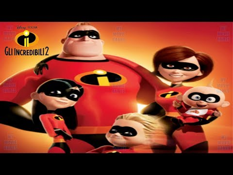 GLI INCREDIBILI 2 ITALIANO FILM COMPLETO VIDEO GIOCO Disney Pixar Mymoviegames