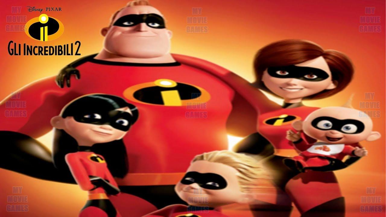 Gli Incredibili 2 Italiano Film Completo Video Gioco Disney Pixar Mymoviegames Youtube