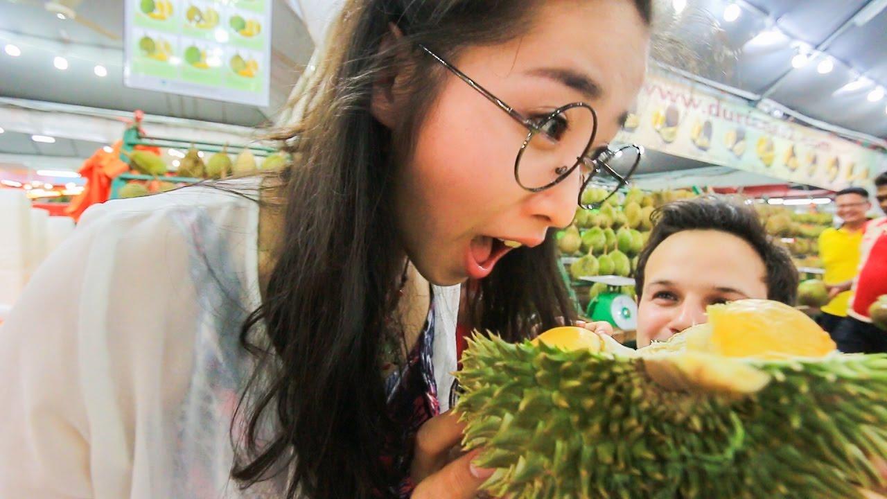 Durian Fruit Feasting In Ss2 Kuala Lumpur Malaysia Subscriber