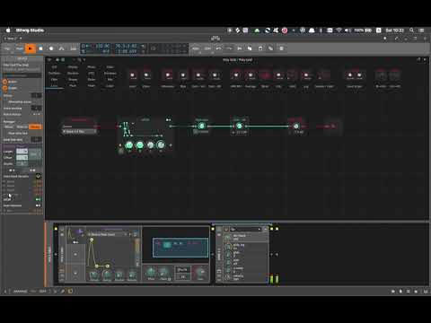 Bitwig 3 Beta, Grid Self-layering VSTi(s) With Voice Stacking