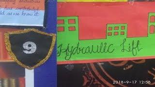 Project No 09 Hedraulic Lift Annual Talent Show school project Al Hidayah public School Mumbra