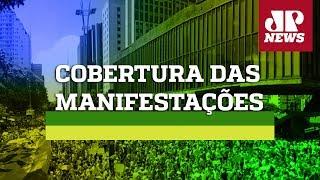 Manifestação - Jovem Pan - AO VIVO - 31/05/20