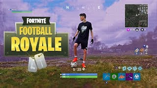 FOOTBALL BATTLE ROYALE - Fortnite in Real Life!!