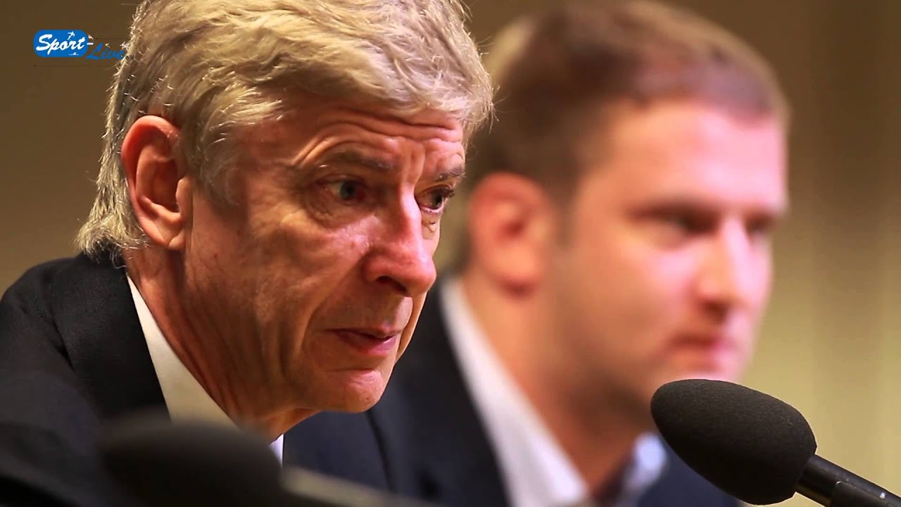 Arsène Wenger talks about the match against Borussia Dortmund