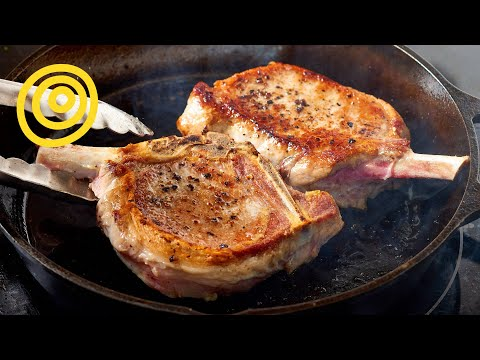 How to cook perfect pork chops youtube ccuart Gallery