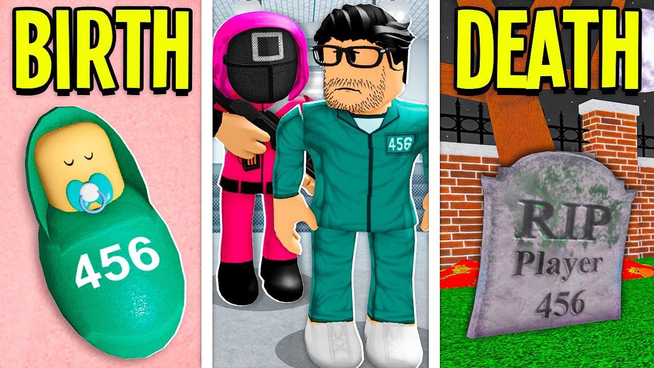BIRTH To DEATH: SQUID GAME!