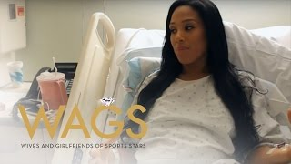 """WAGS"" Star Breaks Down in Hospital Bed 