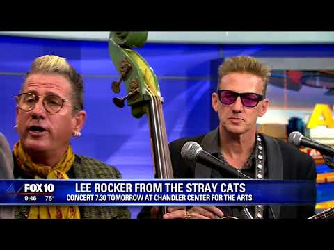 Big 95 Morning Show - Stray Cats announce a new album and tour
