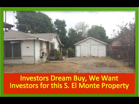 House for Sale in S. El Monte CA that is Perfect for an Investor