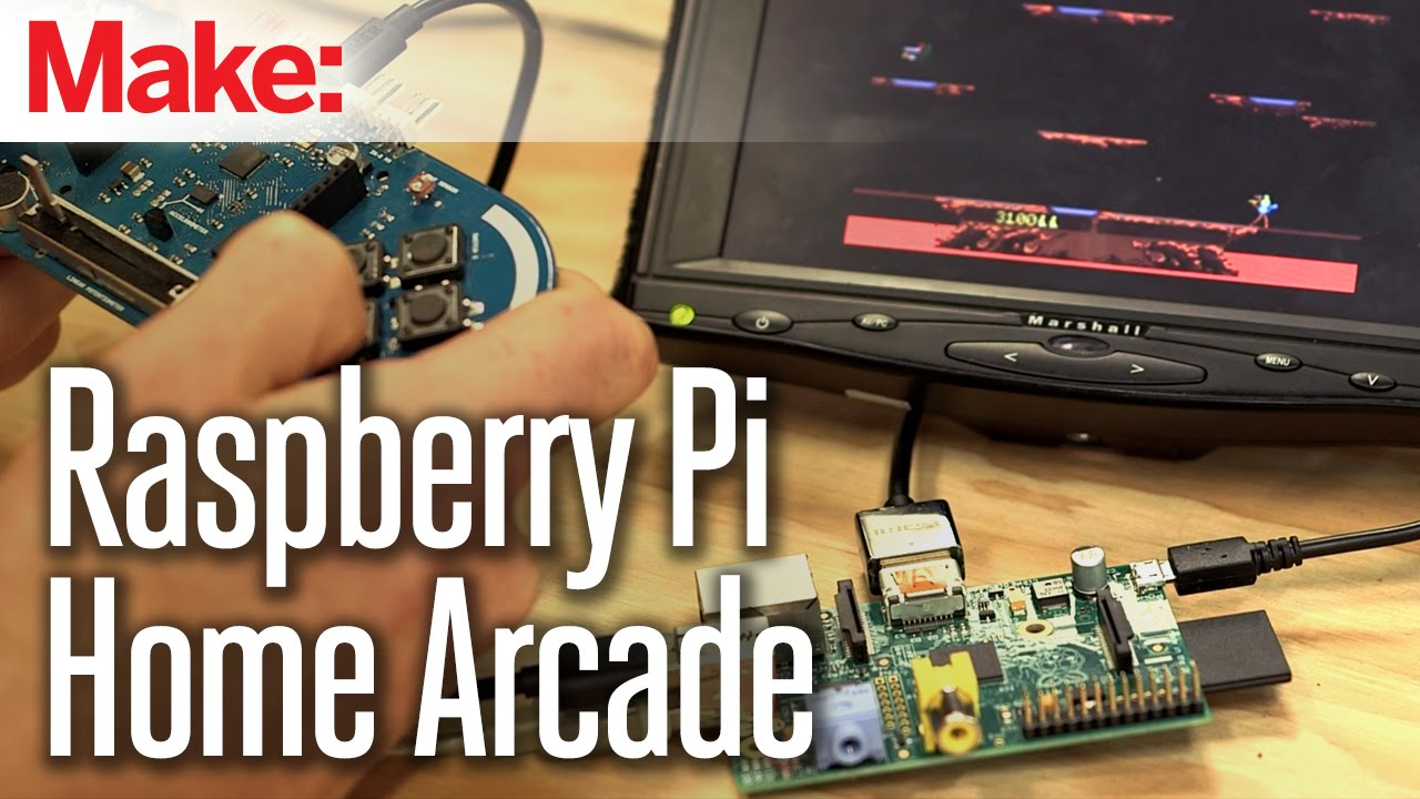 Build a Raspberry Pi Powered Home Arcade | Make: