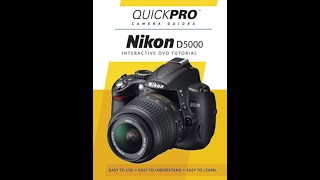 Nikon D5000 Instructional Guid…