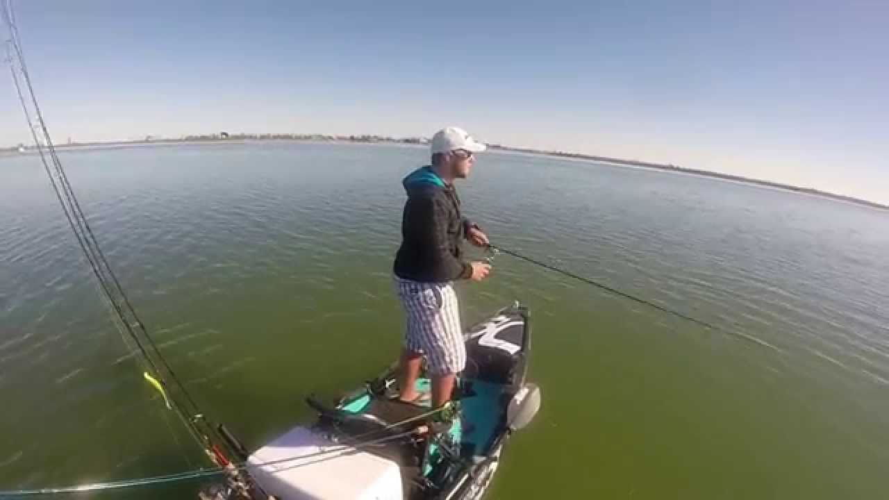 Popping Cork Action with Kayak Adventures 210