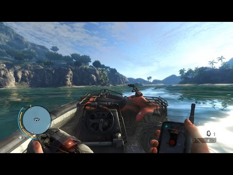 Far Cry 3 Creative Outpost Liberation (atv c4 boat + arrow mortar undetected)