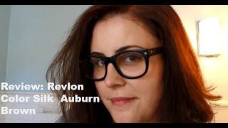 Review: Revlon Color Silk Auburn Brown Hair Color