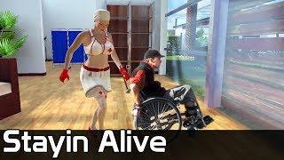 Stayin Alive Gameplay / Dziadki vs. Pielęgniarki
