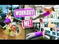 GYM WORKOUT ROUTINE! Get Fit With Me!