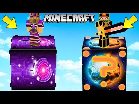 SFIDA LUCKY BLOCK di MARTE vs FUTURO GIGANTI !! - Minecraft ITA