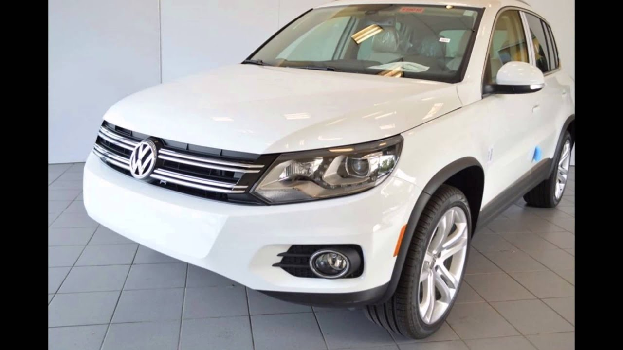 2016 volkswagen tiguan pure white youtube. Black Bedroom Furniture Sets. Home Design Ideas