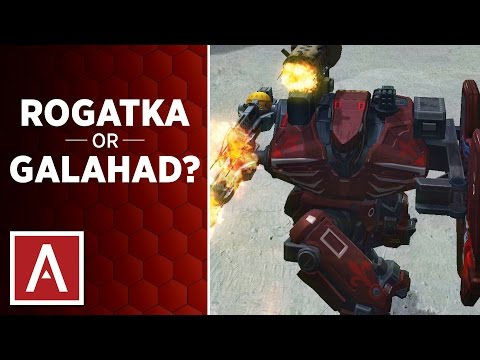 War Robots [WR] Tutorial - ROGATKA or GALAHAD?